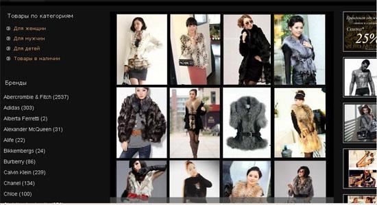 Консультация по продвижению сайтов по брендовой одежде
