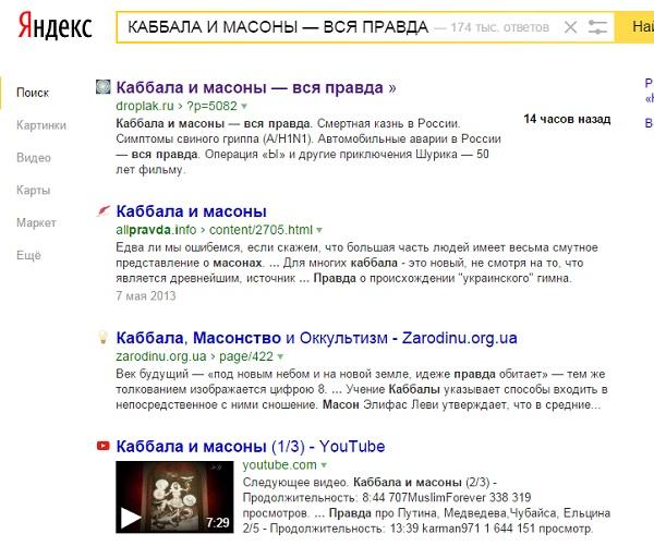 Индексация страниц сайта в Яндексе
