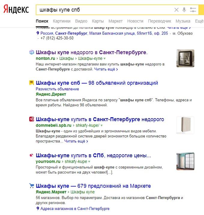 Кейс: Как получить отображение картинки в поисковой выдаче Яндекса