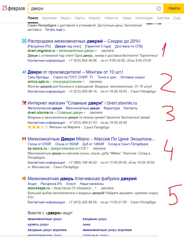 Сколько рекламы в выдаче Яндекса на данный момент